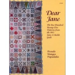 Libro Dear Jane 225 patterns
