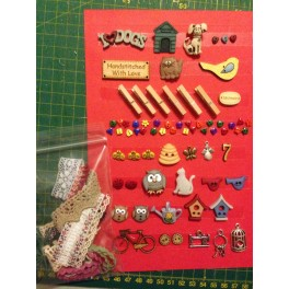 Kit botones My Cottage