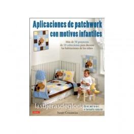 Aplicaciones de patchwork con motivos infantiles
