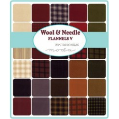 KIT FRANELAS WOOL NEEDLEL FLANNELS V