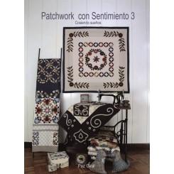 """LIBRO PATCHWORK CON SENTIMIENTO 3 """"Cosiendo sueños"""""""
