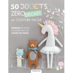 50  jouets zéro déchet en couture facile