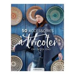 Libro 50 accessoires à tricoter en 1 week-end